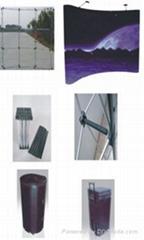 拉网展架,加强型拉网展架,弹簧型拉网展架,拉网展架,展架