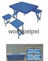 折叠桌椅,连体桌椅,广州折叠桌