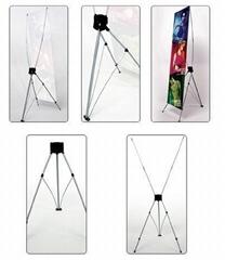 X banner displays