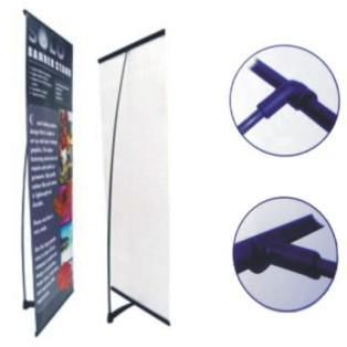 banner stand L  1