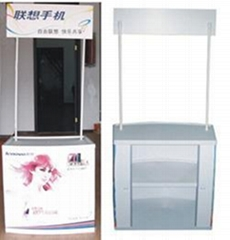 promotional counter display,PP promotional counter,plastic promotional counter