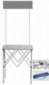 廣州鋁折疊桌,鋁促銷台,鋁折疊