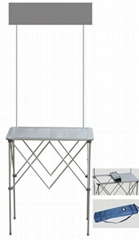 广州铝折叠桌,铝桌,全铝促销台,铝促销台,铝折叠桌,折叠铝桌