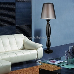fabic shade floor lamp for hotel project