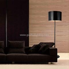 fabic shade floor lighting