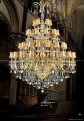 crystal chandelier lamp