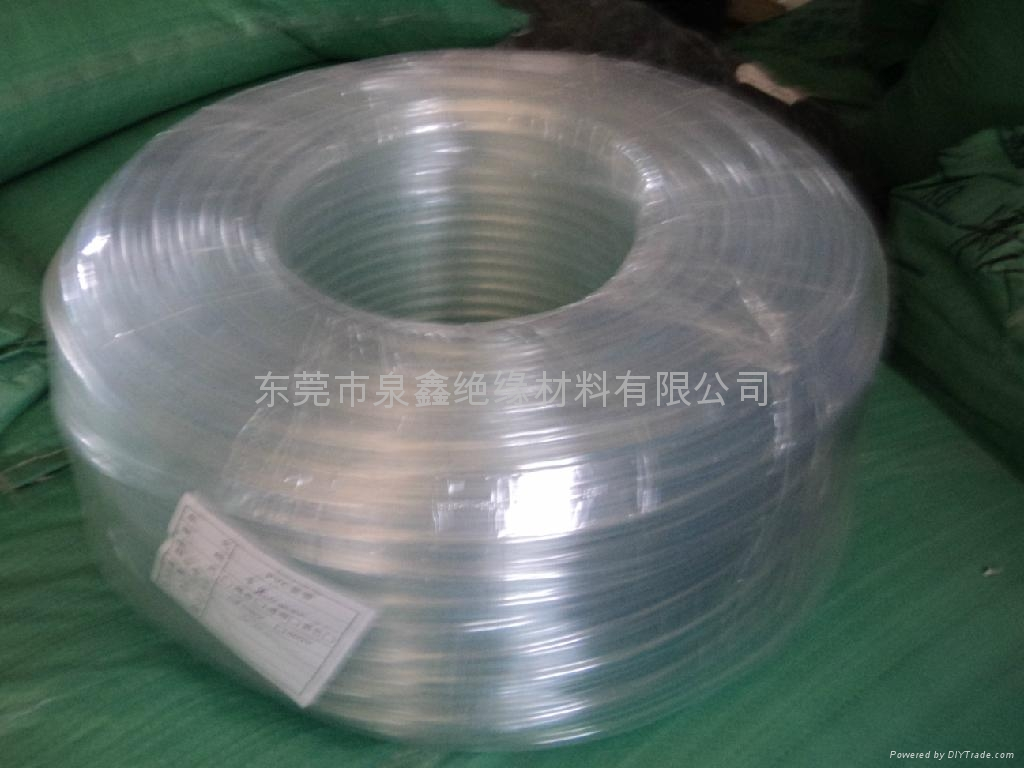 PVC transparent casing, the transparent PVC casing, transparent rubber hoses 3