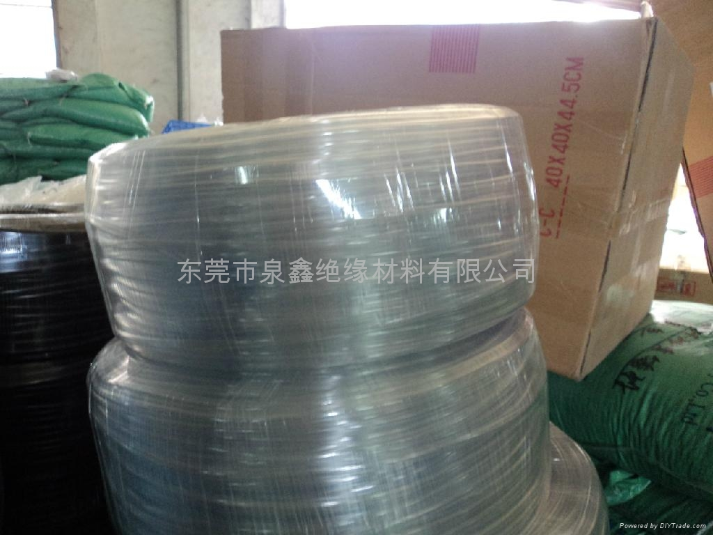 PVC transparent casing, the transparent PVC casing, transparent rubber hoses 5
