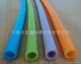 PVC blue casing, the blue PVC casing,