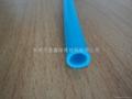 PVC blue casing, the blue PVC casing, blue hose