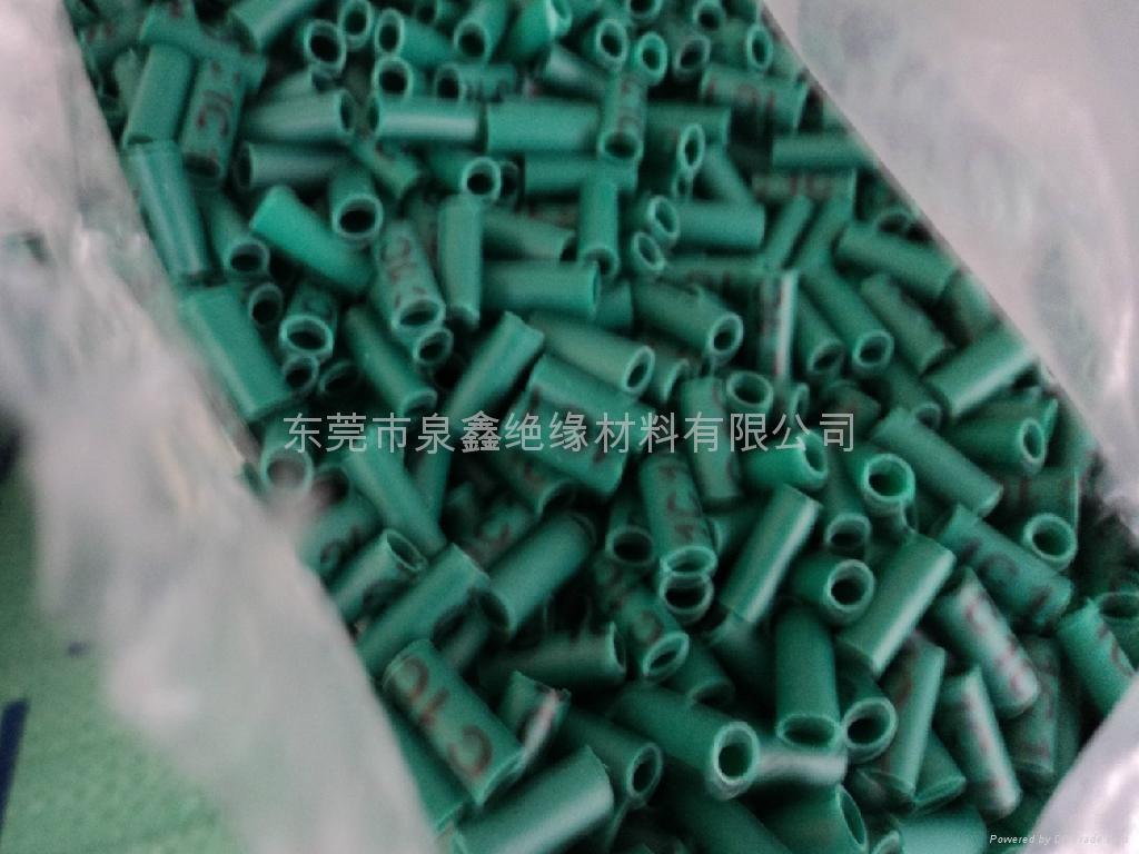 PVC绿色套管、绿色PVC套管、绿色胶管 1