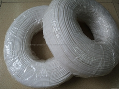 PVC casing, white PVC casing white, white hose
