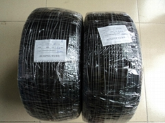 PVC casing, the black black PVC tubes, black rubber hoses