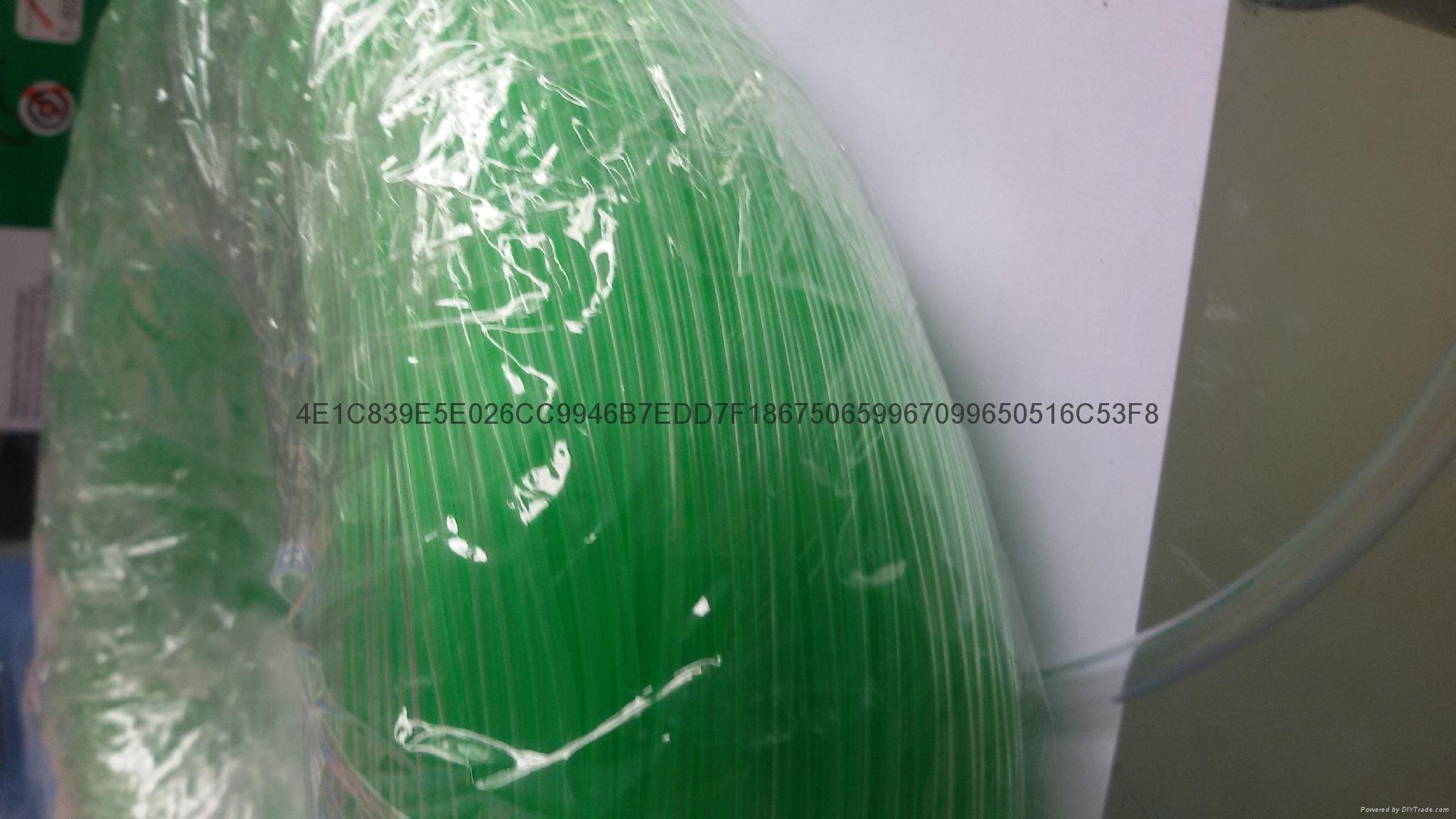 PVC绿色套管、绿色PVC套管、绿色胶管 6