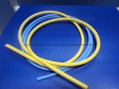 黃色硅膠管