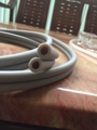 PVC double row pipe, double row hose, double - hole hose, double - hole pipe