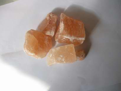 天然水晶岩鹽燈 2