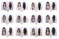 Synthetic hair wigs wholesale