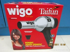 Wigo Ionic Metal Taifun Hair Dryer