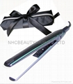 Mini hair straightener with free pouch bag accep print your logo