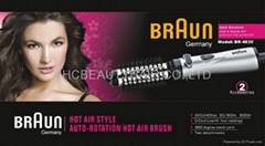 BRAUN hot air style auto-rotation hot hair brush