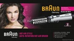 BRAUN hot air style auto-rotation hot hair brush