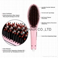 Brush Hair Comb Electric Straightening irons hair Styling Automatic LCD display