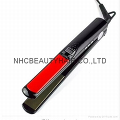 LCD Digital Anti Static Ceramic Hair Straightener Remington Hair Iron Chapinha S