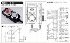 手持盒手搖器編碼器TM1469