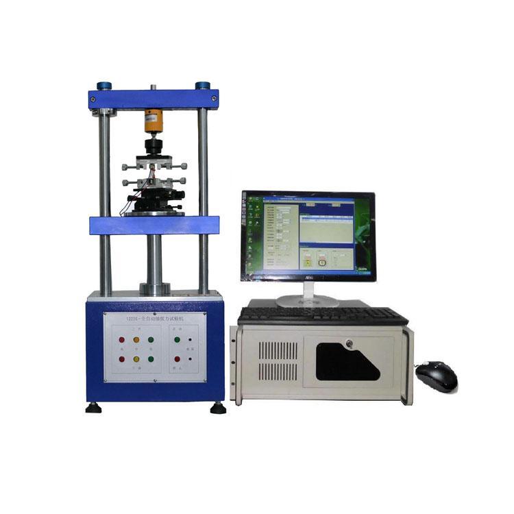 电脑系统全自动连接器插拔力试验机 1