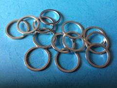 釹鐵硼磁鐵 環形鍍鋅處理
