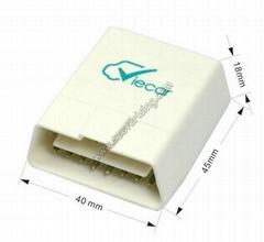 Mini Viecar Obd2 Bluetootth ELM327 tool OBD11 Auto Torque Scanner tool for ios