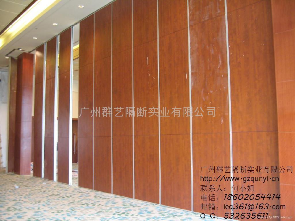 宴会厅隔断移动隔音墙多功能厅折叠门 1