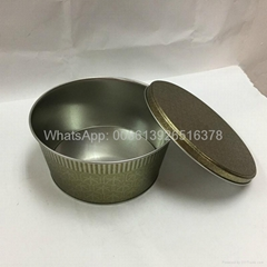Metal Large Popcorn in Tins Containers