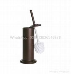 Metal Toliet Brush Holder Tin box