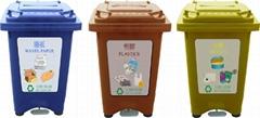 防火塑胶(60L)废物分类回收