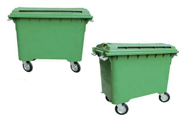 500L 流动垃圾桶 1