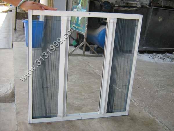 隱形紗窗,折疊紗窗,推拉紗窗(廠家直銷) 4