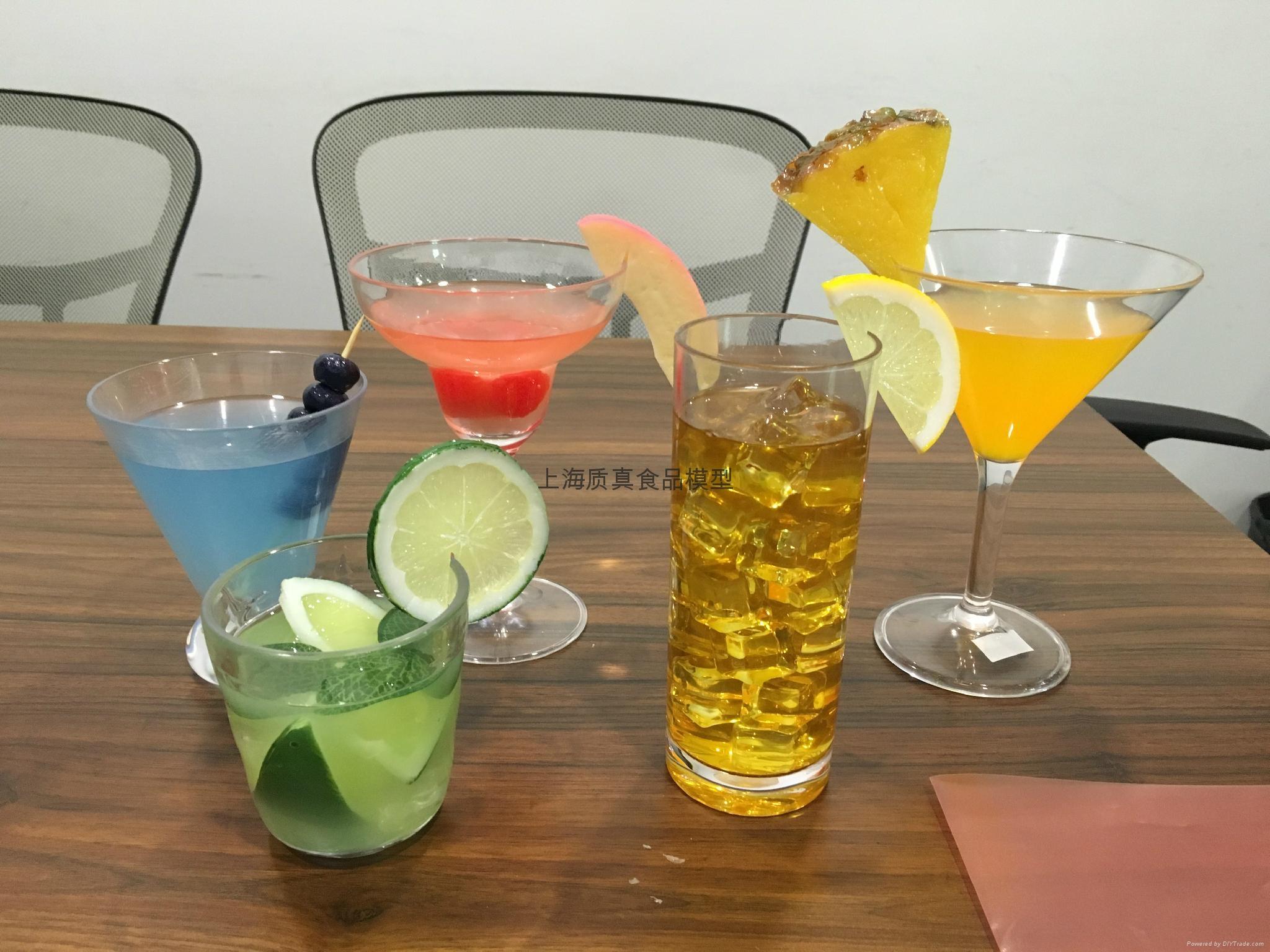 仿真鸡尾酒食模型 1