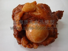 上海質真食品模型-大醬骨模型