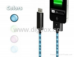 Visible Flowing Current Cable for iPad,iPhone,iPod.