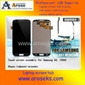"5.0""Touch Digitizer+LCD  for SAMSUNG GALAXY S4 i9500 LCD Assembly with Frame 2"
