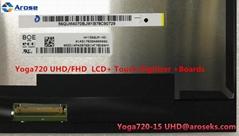 Lenovo LCD Module N156QUM-N51 UHD for Yoga 720-15IKB (80X7001SUS) 5D10N24288