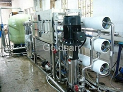 Reverse Osmosis Pure Water Treatment Plant 12Ton to 30 Ton Per Hour