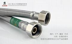過江龍304不鏽鋼編織軟管