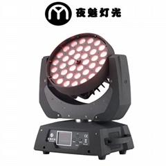 36颗四合一LED调焦染色摇头灯