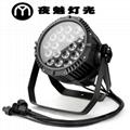 18顆LED四合一防雨帕燈