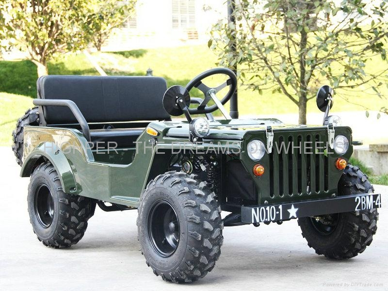 110cc, 125cc Mini Jeep Go Kart 2