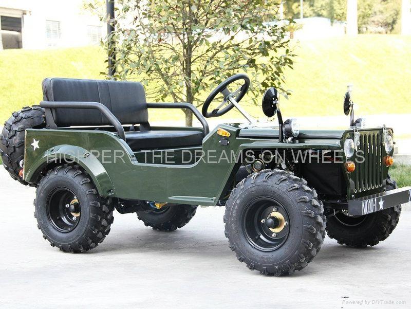 110cc 125cc Mini Jeep Go Kart China Manufacturer Go Kart Go