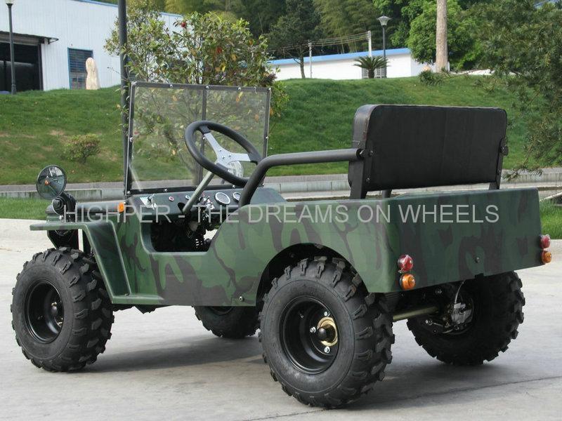 110cc, 125cc Mini Jeep Go Kart 5
